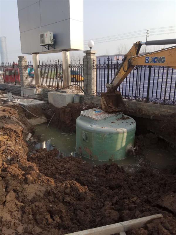 福建一体化预制泵站精心