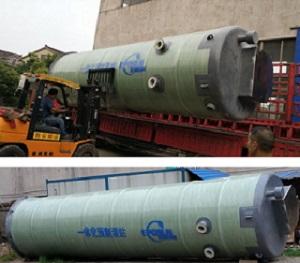 处理工业废水用一体化预制泵站
