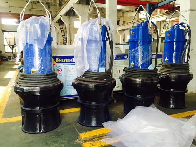 农业灌溉水产养殖潜水轴流泵厂家