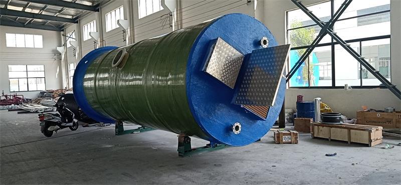黑龙江一体化污水提升泵站设计