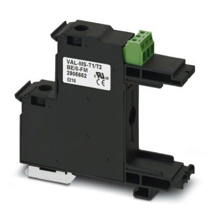 2类电涌保护基座 - VAL-MS-T1/T2 BE/O-FM - 2905652