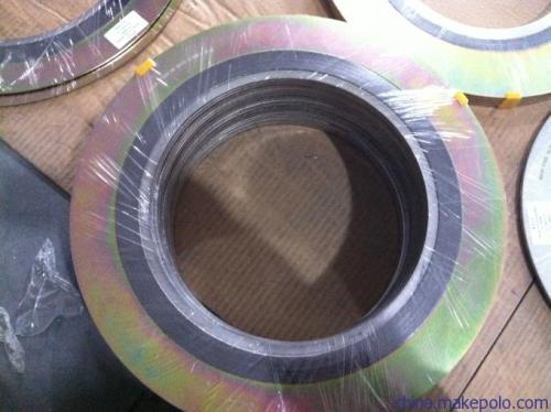 换热器用(带筋)金属缠绕垫 ,异型金属缠绕垫片标准规格
