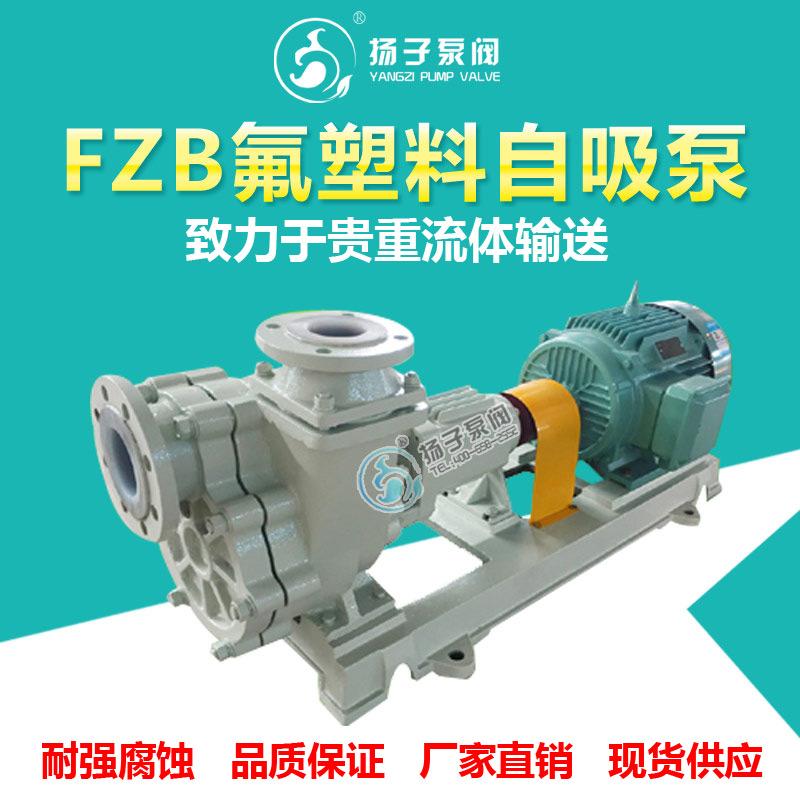 FZB型氟塑料自吸泵 耐腐蚀自吸泵 耐酸碱自吸泵 化工自吸泵