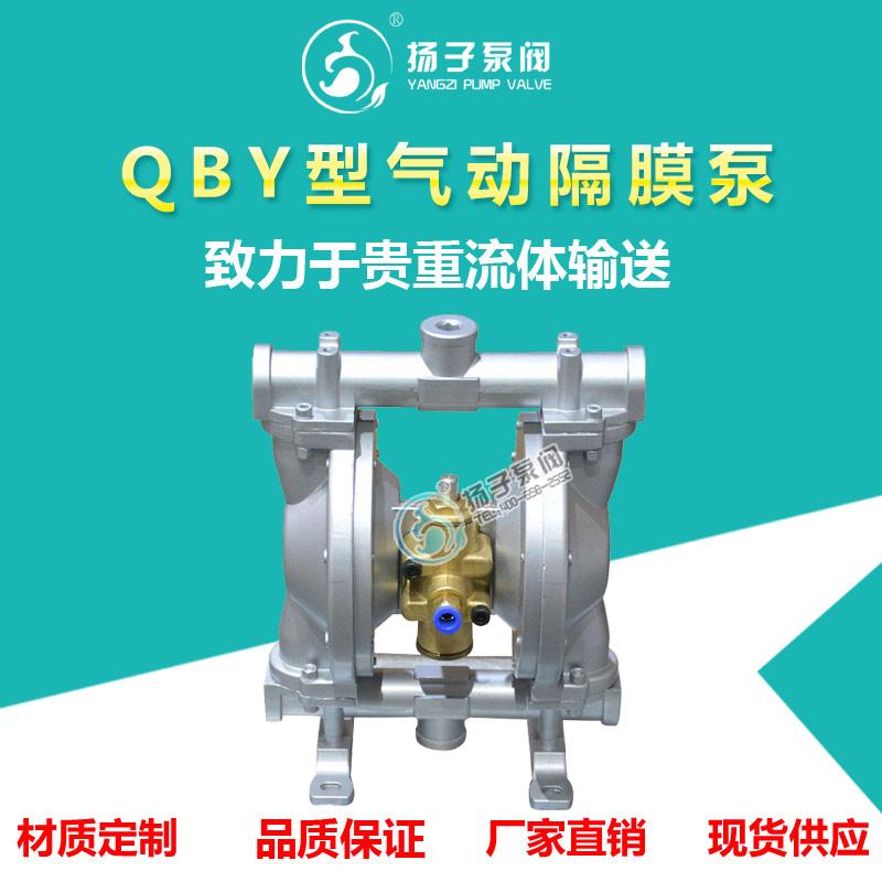QBY型气动隔膜泵 粉尘泵 污泥泵