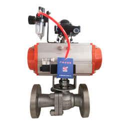 Q647Y-16P 压滤机配套气动球阀  不锈钢材质