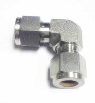 316不锈钢卡套弯头直角弯通卡套接头中间接头3/6/8mm 1/4 1/8
