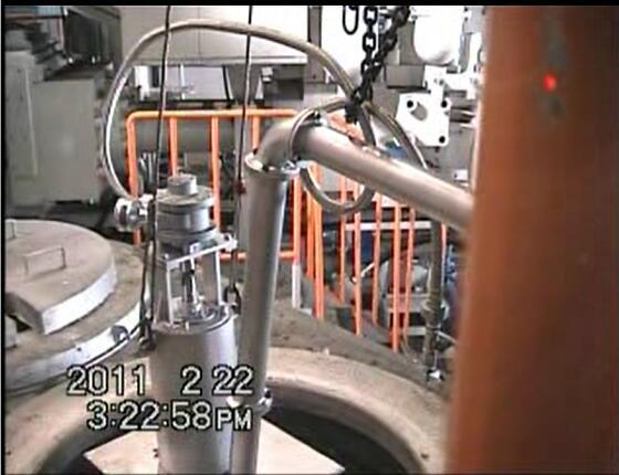 日本铝水输送泵铝液抽取泵铝水泵