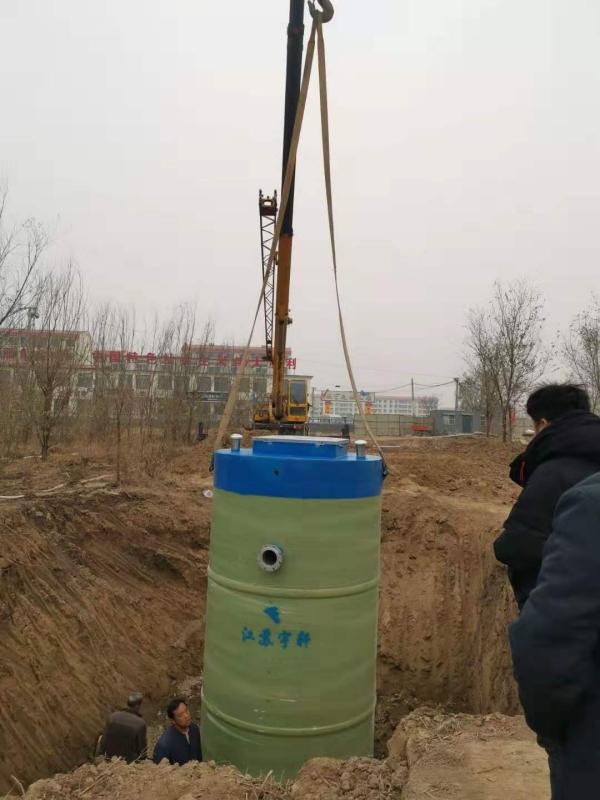 淮安一体化预制提升泵站生产厂家