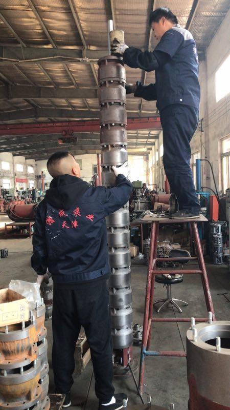 潜水泵250QJ100-180-90KW大功率深井泵现货供应