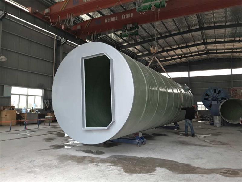 上海重庆GRP一体化污水泵站