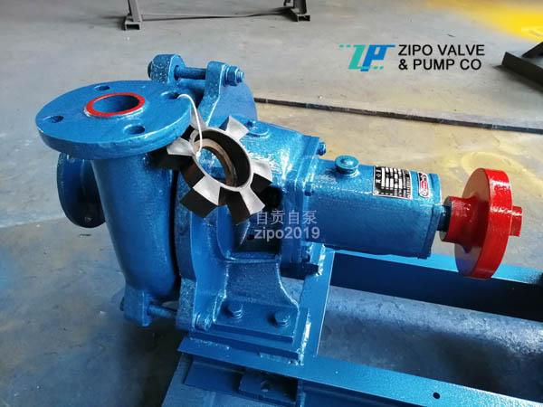 自贡自泵水泵厂3ZPN卧式耐单级单吸泥浆泵及桩基配件泵