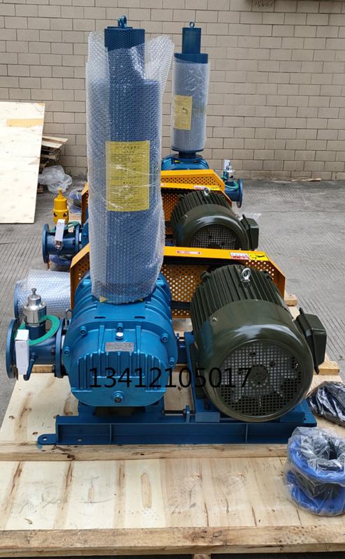 熔喷设备专用罗茨风机22kw现货供应