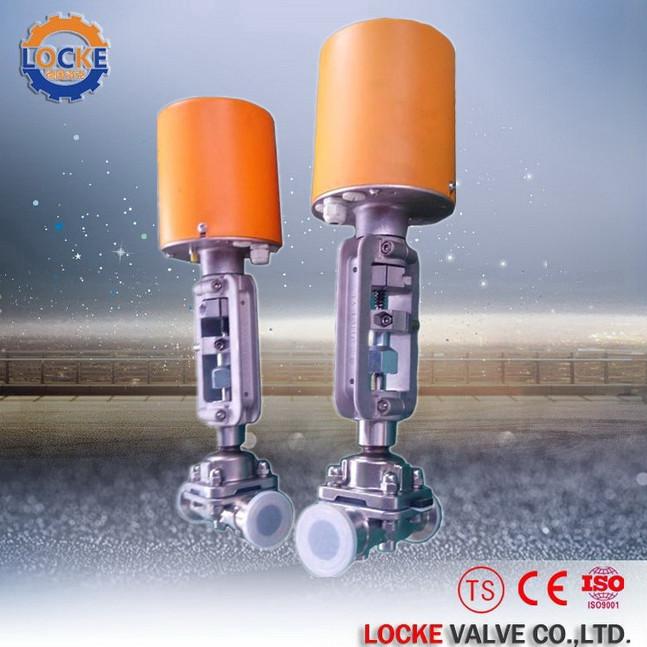 进口电动隔膜阀德国洛克专业可靠配套好产品