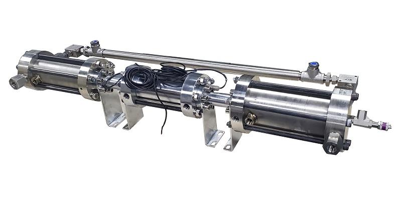 液压气体增压设备、液压气体充装、液驱气体增压泵增压系统增压设备