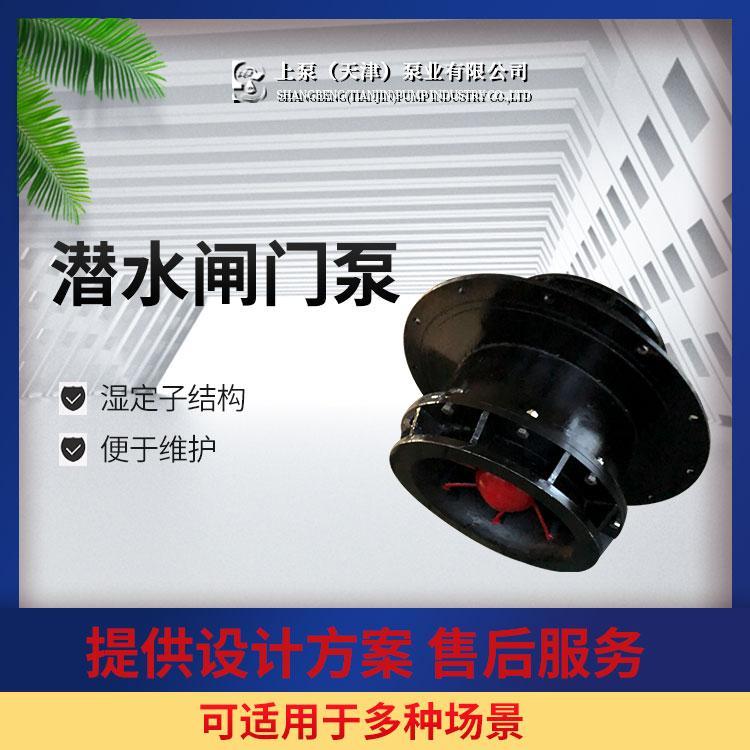 上泵QGWZ全灌流潜水闸门泵价格-参数-型号
