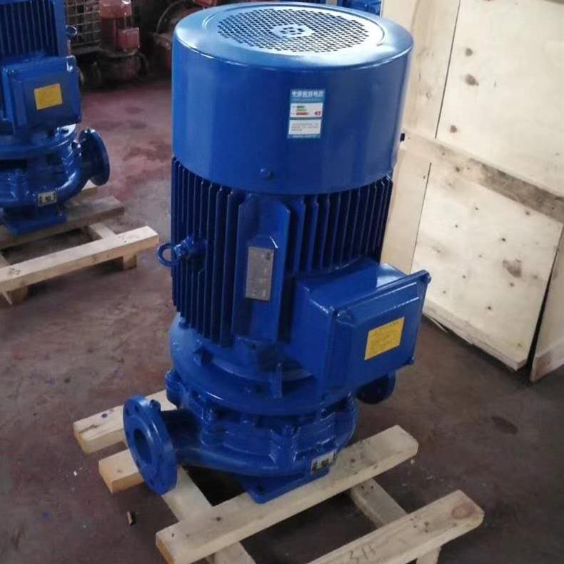 立式单级管道离心泵