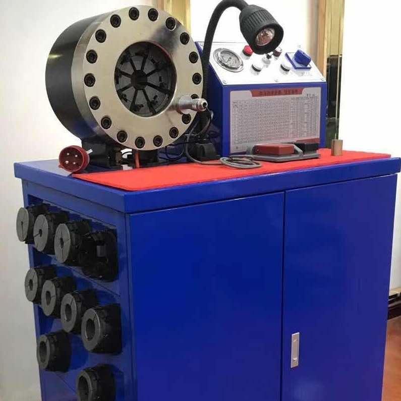 供应胶管扣压机、锁管机
