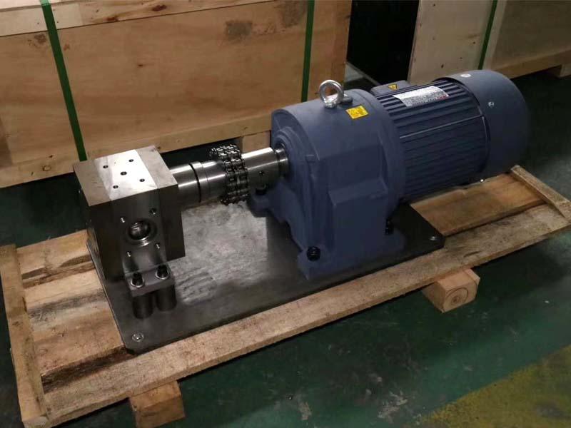 高温熔喷布计量泵50CC配套95螺杆挤出机