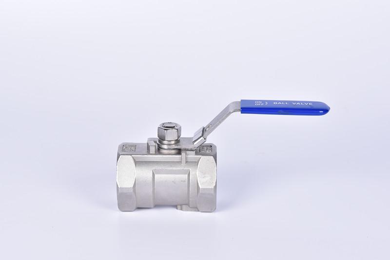 精密铸造一片式球阀(缩径,带锁)