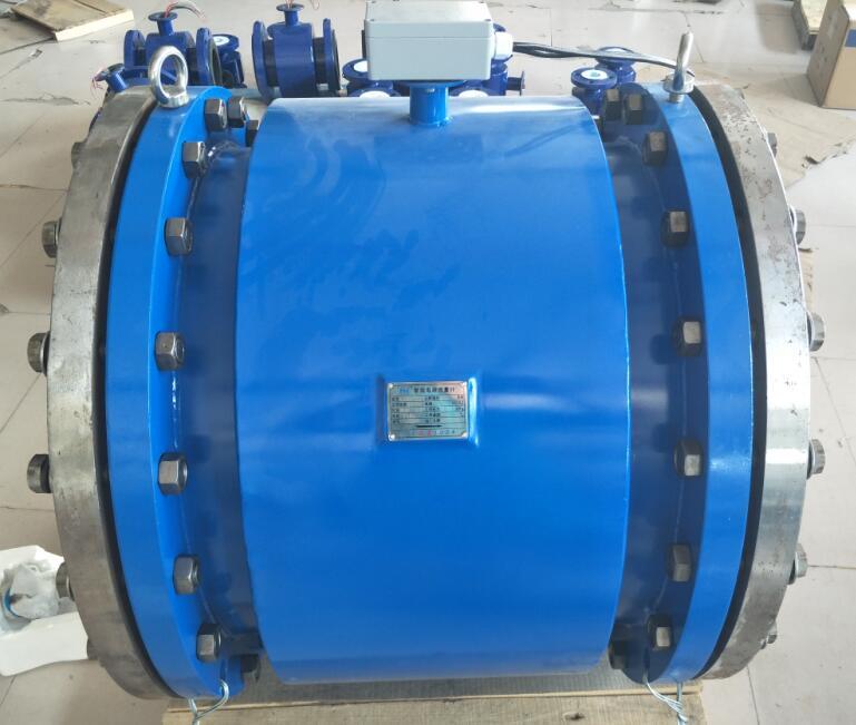 污水进水/出水总管流量分体式DN300电磁流量计