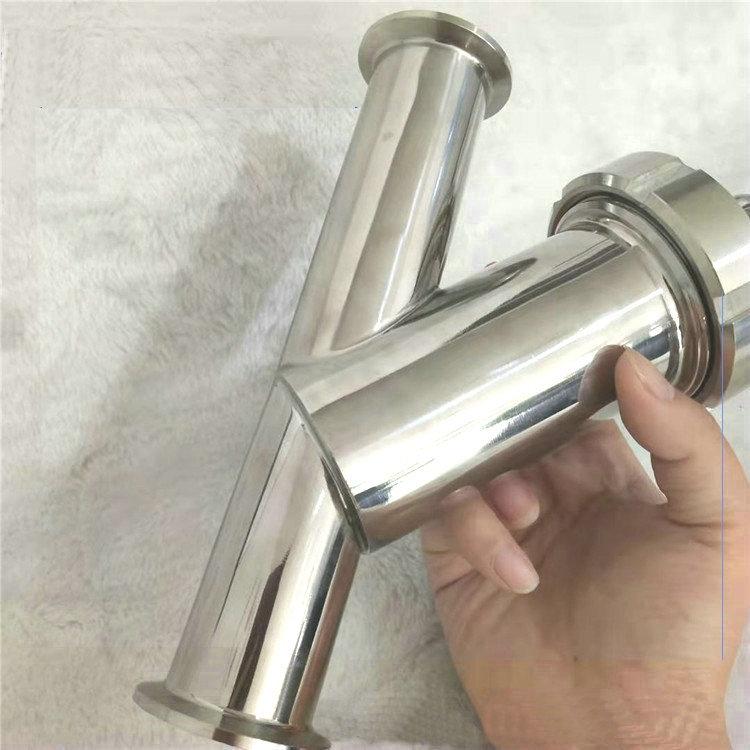 卫生级Y型过滤器 不锈钢管道过滤器 角式微孔过滤