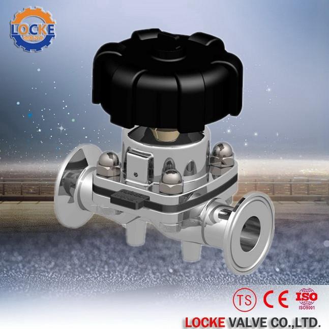 进口卫生级隔膜阀(欧美质量好品牌)德国洛克DE LOCKE