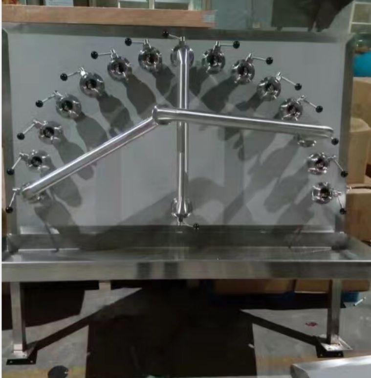 不锈钢接管板 CIP接管盘
