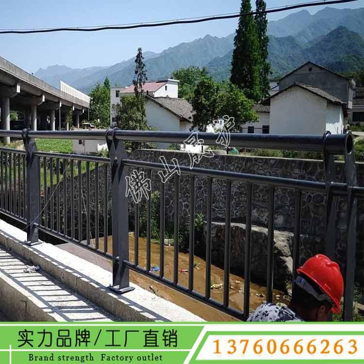 中山河道护栏报价 阳春桥梁栏杆定做 英德公园景观栅栏