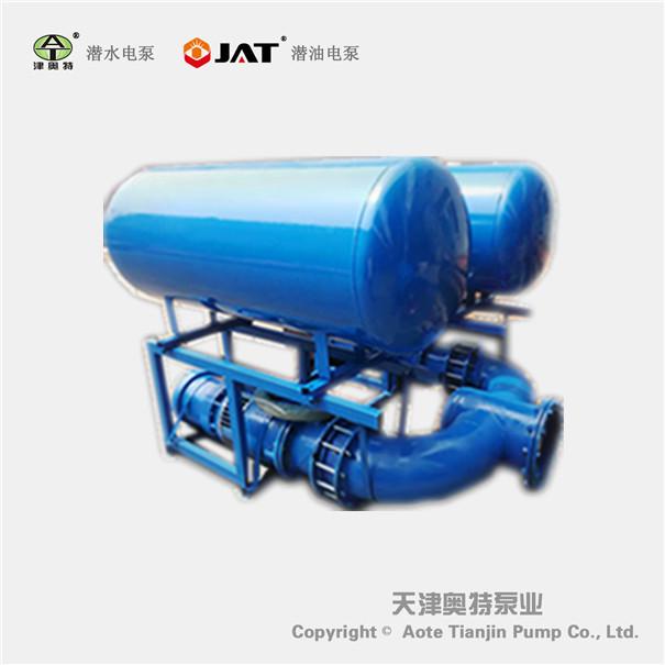 浮筒式海水潜水泵_流量大_铸铁材质