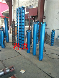 175QJ32-306-55KW深井泵,天津高扬程306米深井泵厂家潜成