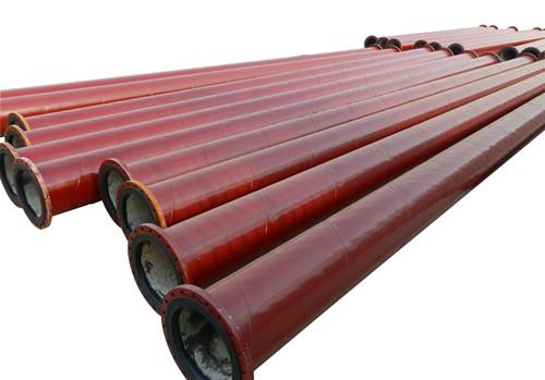 钢衬橡胶复合管道