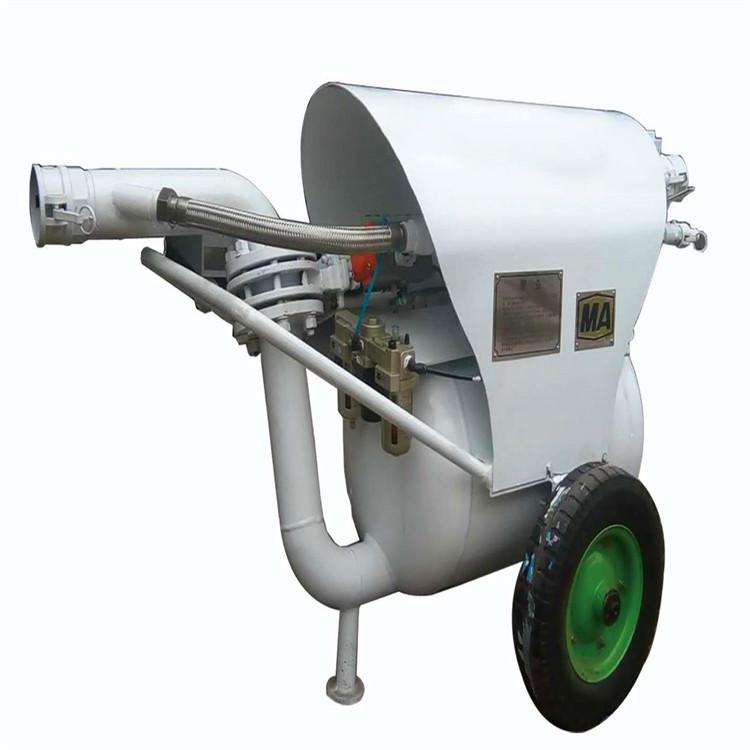 一机多用 气动清淤泵 输送介质范围广 排污能力极强 移动灵活方便