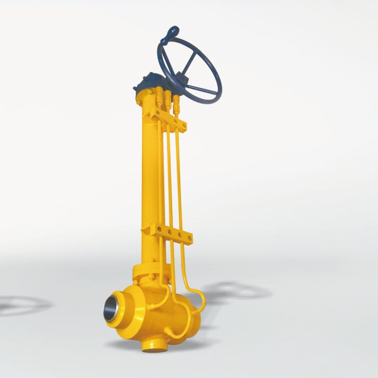 厂家直供-涡轮燃气球阀 碳钢  国标 焊接