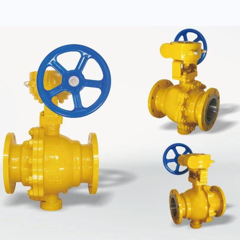 厂家直供-涡轮燃气球阀 法兰式 直通式