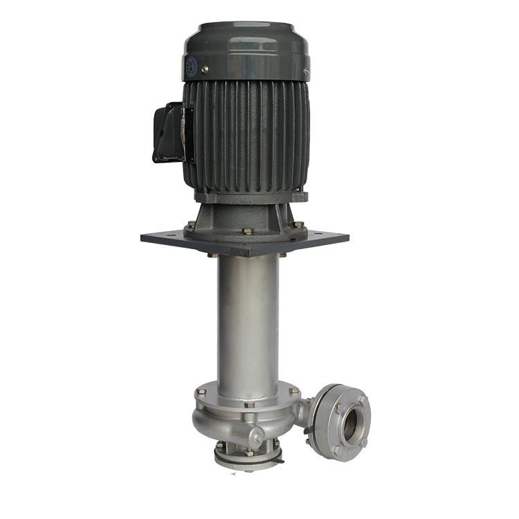 国宝KD型可空转耐腐蚀直立式不锈钢槽内立式泵