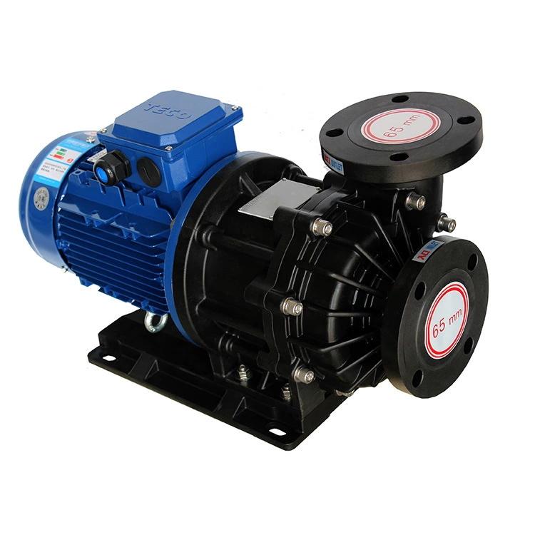 企华厂家直销大流量耐腐蚀强酸防曝化工泵PVDF材质泵