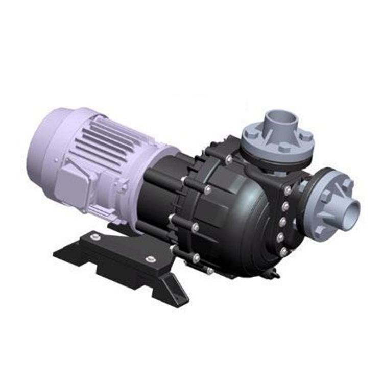 企华卧式耐酸碱自吸泵,同轴式耐空转污水泵