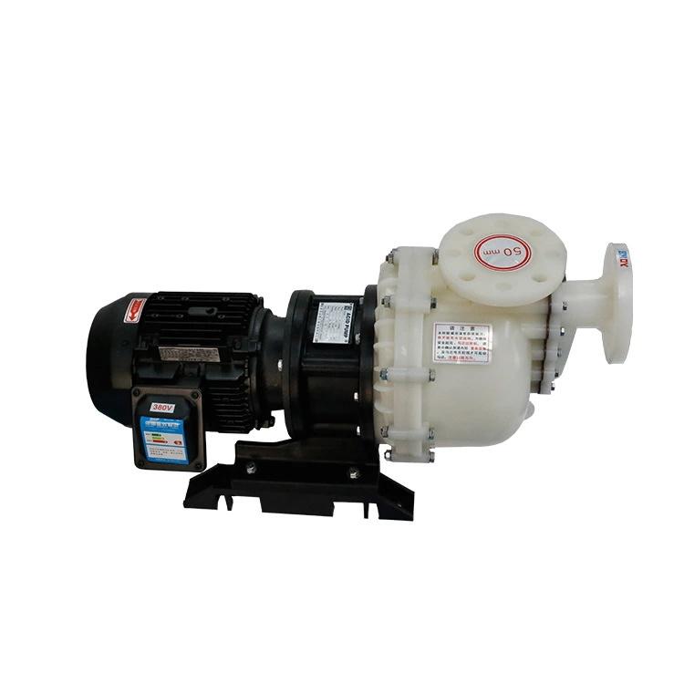 国宝卧式耐酸碱自吸泵,同轴式耐空转污水泵企华