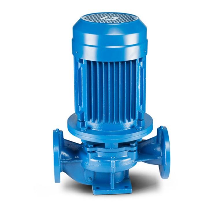 管道泵 立式抽水泵 ISG单级离心泵菏泽清水泵济南管道泵