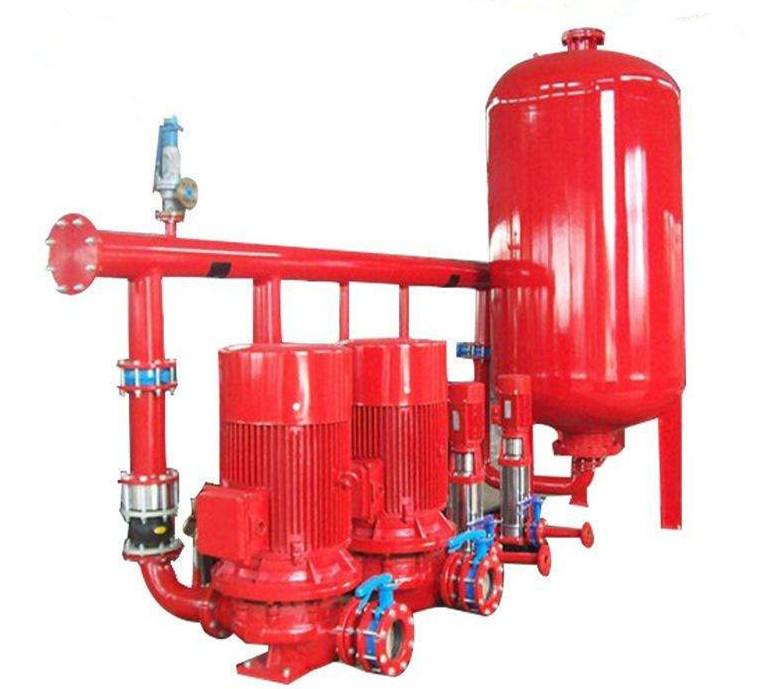 消防泵离心泵稳压缓冲多级消防泵消防恒压机组厂家现货供应