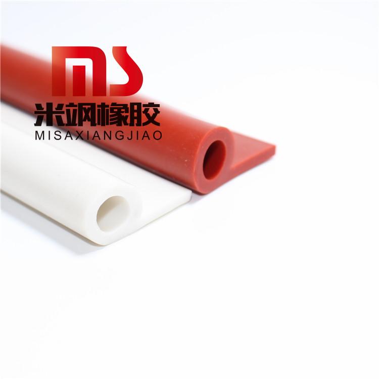 耐高温硅胶密封条P型防撞密封条