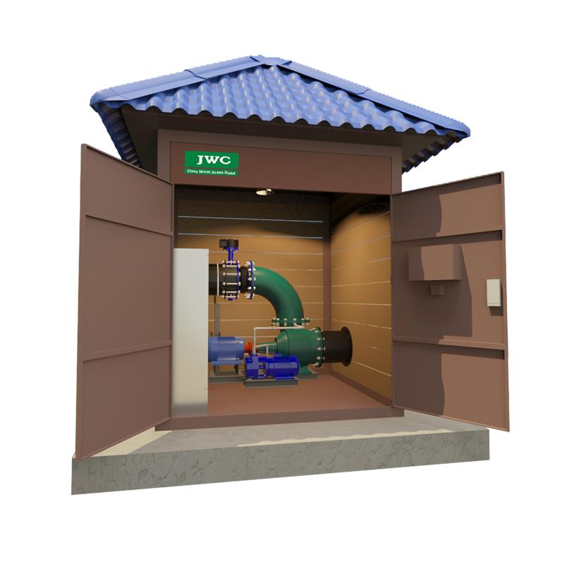 一体化灌溉排涝泵房对农村污水治理的帮助