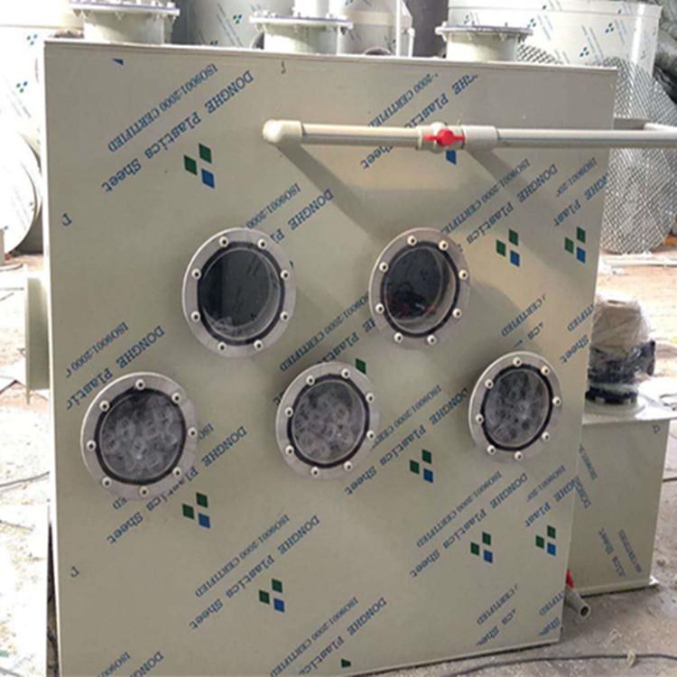 邯郸1万风量卧式喷淋塔灰尘过滤塔耗水耗电低