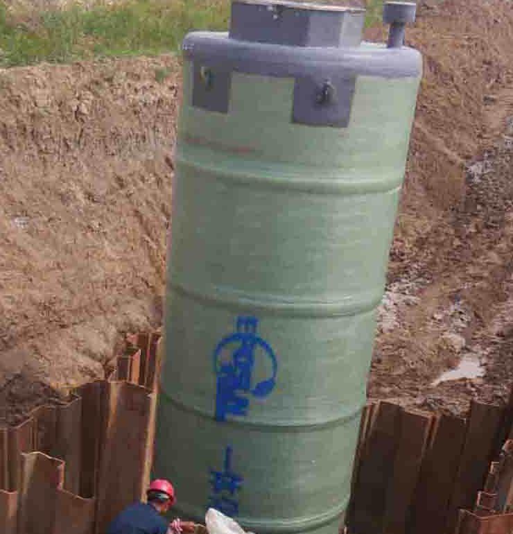 一体化预制泵站的施工过程