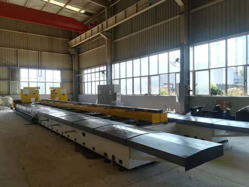 SKSCX-13000数控钢板双侧铣边机床