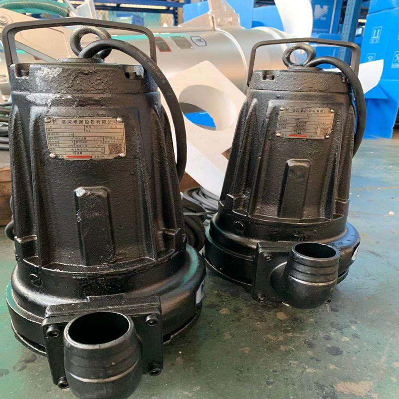 蓝深增强型AS16-2CB潜水排污泵