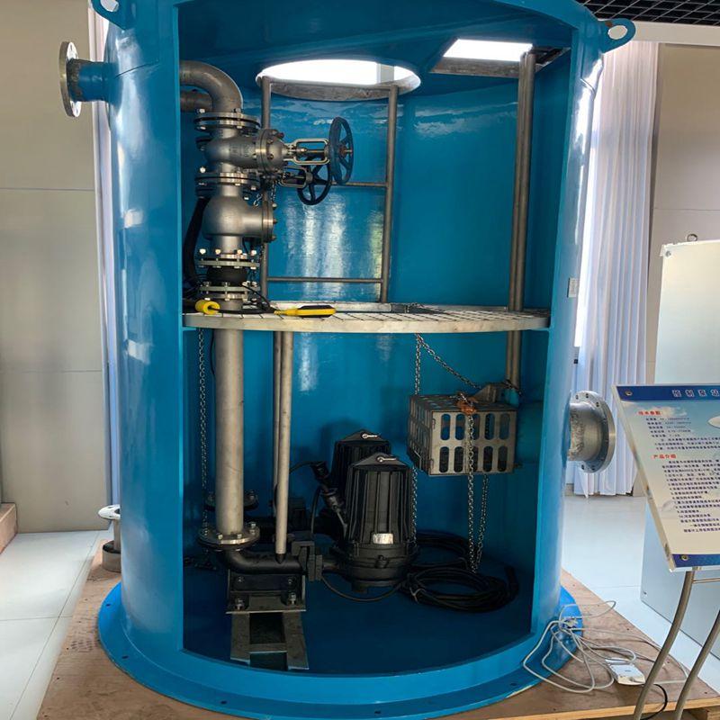 蓝深一体化预制泵站