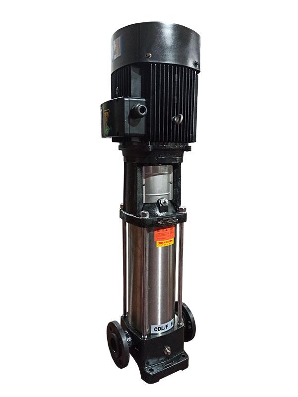 CDL型冲压不锈钢多级离心泵 卫生立式多级增压管道泵