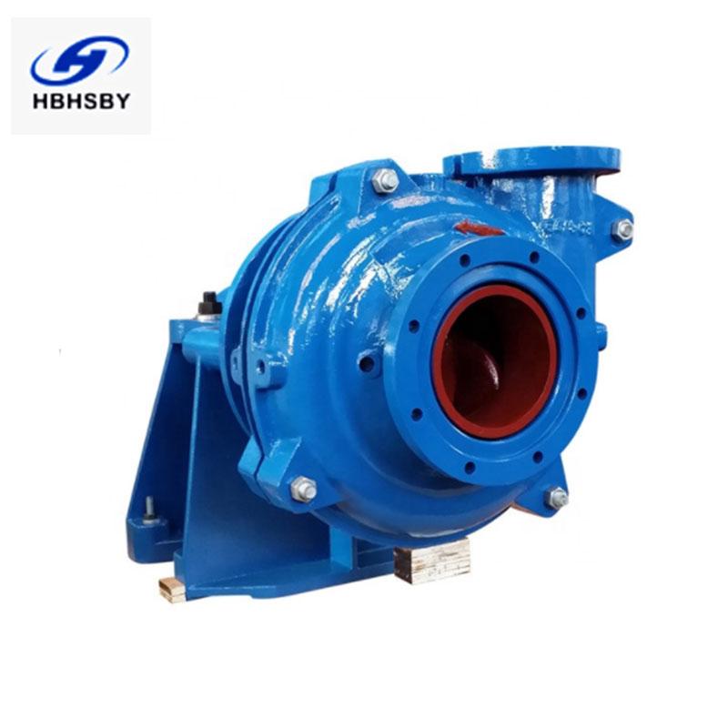 河北华盛泵业卧式尾矿泵  耐磨渣浆泵/杂质泵