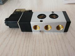 气动电磁阀4M310-08二位五通气阀24V板式安装电磁阀